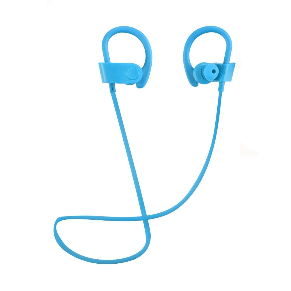 Newest Bluetooth 4.2 Earphones Wireless In-ear Sport Music Stereo Headphone Handsfree with Mic Headset Earhook for Iphone Xiaomi 2pcs 3 5mm in ear earphones headphone with mic