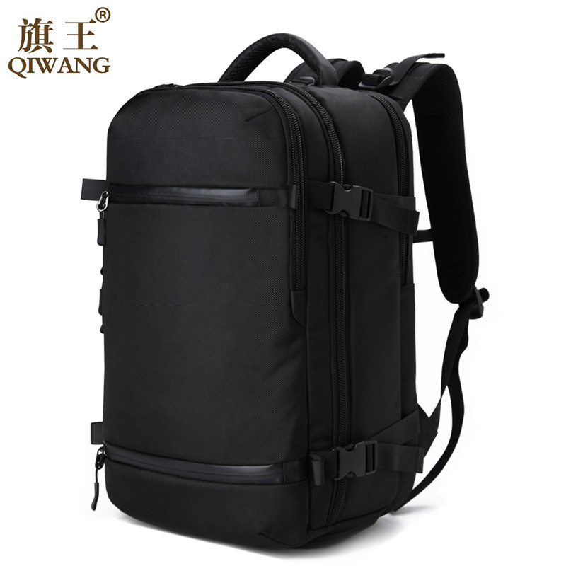 Qi Wang aer Travel Pack Bag Large Capacity Multifunctional Waterproof Backpack Luggage Bag Rain Cover Men's backpack for shoes hot pgm golf clothes pack men s double shoes bag extra large capacity bag pack portable clothes shoes handbag free shipping