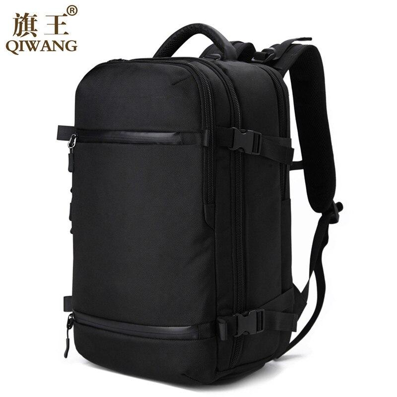 Qi Wang aer travel pack font b Bag b font Men Luggage Backpack font b Bag