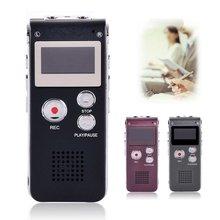 8 GB Marca Mini USB Flash de Audio Digital Grabadora de Voz Hr Dictáfono Reproductor de MP3 Pen Drive Grabadora de 3 Colores