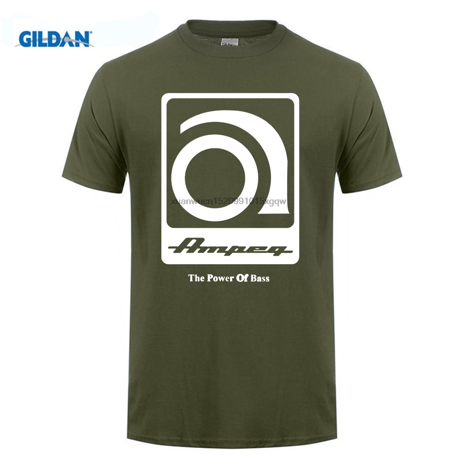GILDAN Made mens t shirt AMPEG VERSTARKER NEU black tee shirts plus size O Neck jersey cotton shop sales online