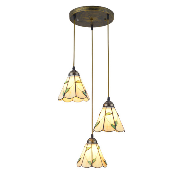 Coffee Shop 3 pcs black iron Pendant Lights Suspesion glass Lamp cover for Dining Room Led Pendant Lamp kitchen light Lamparas