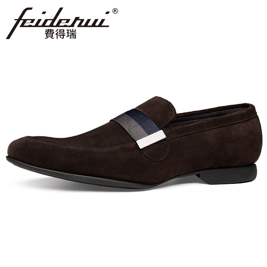 New Arrival Genuine Leather Mens Handmade Comfortable Loafers Round Toe Slip on Footwear Cow Suede Man Casual Shoes YMX694New Arrival Genuine Leather Mens Handmade Comfortable Loafers Round Toe Slip on Footwear Cow Suede Man Casual Shoes YMX694
