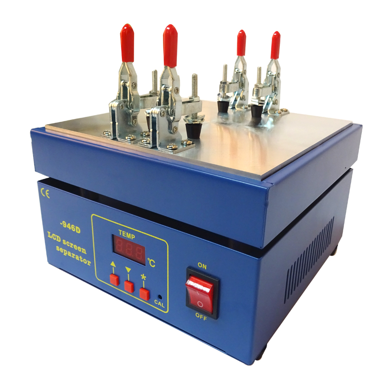 Touch Screen LCD Separator, Screen Separator Machine Support Max 5.5inch Screen With 20pc Free Cutting Wire