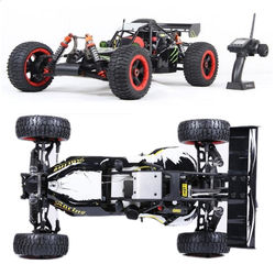 1/5 Scale Rovan Rofan Baja 5B 4WD with 30.5CC Gasoline Engine 4WD Rc Truck Monster Truck