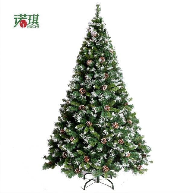 Auto Weihnachtsbaum.Us 169 0 1 5 Mt 150 Cm Verschmutzt Weiß Tannenzapfen Schnee Auto Mall Weihnachtsbaum Dekoriert Weihnachten Dekoration Hotel Wohnzimmer In 1 5