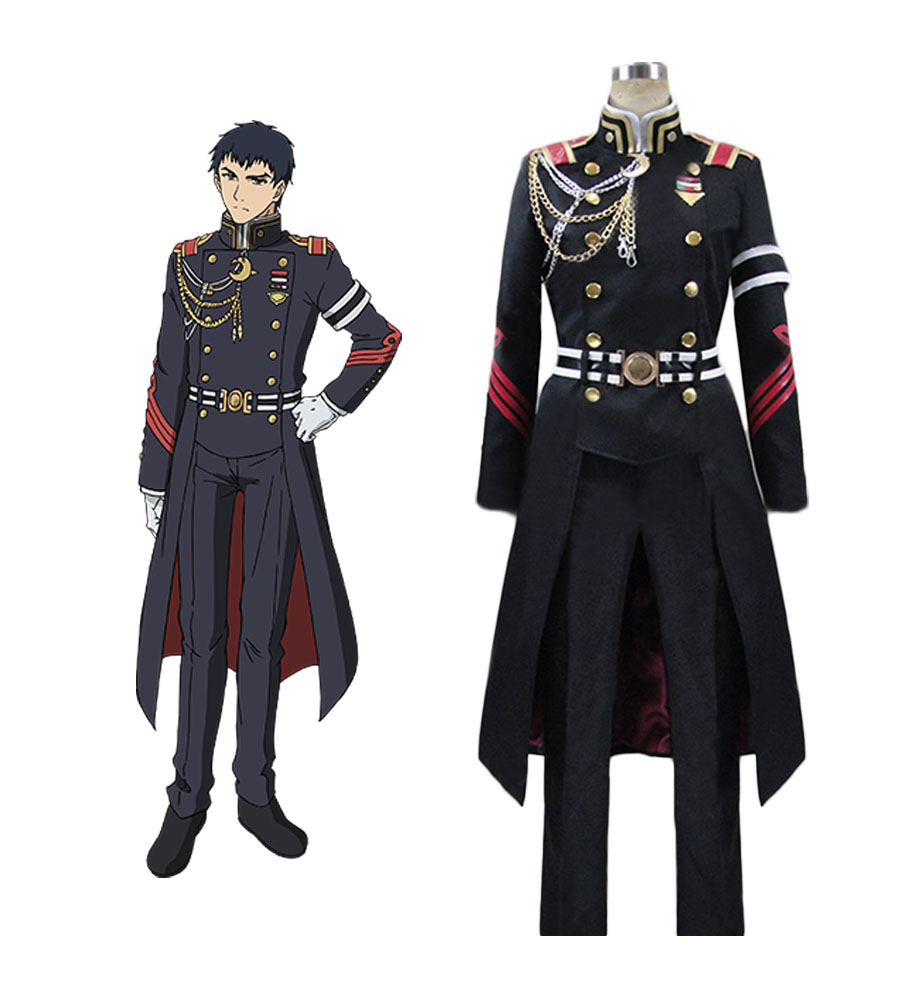 Seraph of the End Kureto Hiragi Cosplay Costume Tailor Made