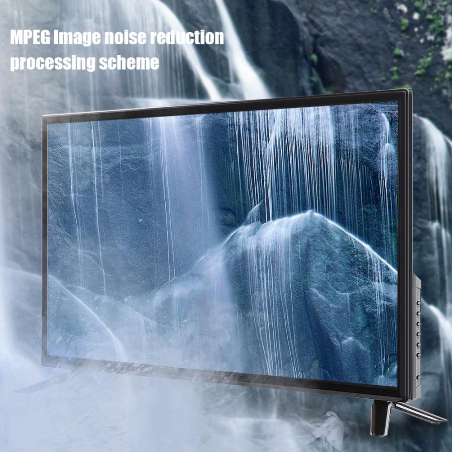 43 Inch 4K WiFi Smart HD LCD TV Home Theater 1920*1080 Supports Network Cable+Wireless WiFi HDR Real-time Conversion 75W 60Hz