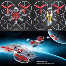 Dron 4CH  6Axis Quadcopter Yellow & Red Drones Rc Helicoptero 3D Quadrocopter RC Helicopter