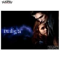 DIY Twilight Saga Photo 5d Diamond Painting Cross Stitch Robert Pattinson Full Square Diamond Embroidery Dimaond