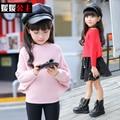 De la princesa niños ropa 2016 chicas big boy suéter otoño niñas niño de punto otoño suéter infantil