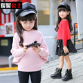 Princess children's clothing 2016 big boy girls sweater autumn top girls child knitted autumn child sweater