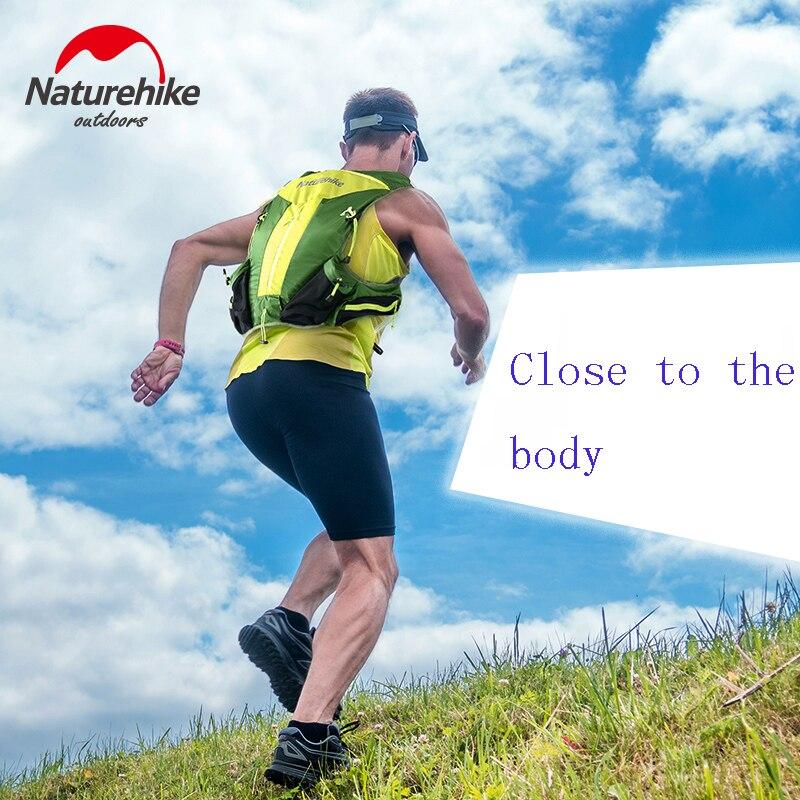 Naturehike Sac de Course En Plein Air Randonnée Trekking Lighweight Marathon Sac À Dos Près du Corps Tactique 12L NH70B067-B - 5