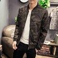 New 2017 spring fashion camouflage printed jacket men slim fit stand collar bomber jacket men veste homme size m-5xl JK28-1