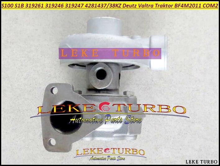 Turbo S100 S1B 312935 319261 319246 319247 04281437KZ 04281438KZ Turbocharger For Deutz Valtra Traktor BF4M2011 COM2 3.11L 87HP доска для объявлений dz 1 2 j4b jndx 4 s b