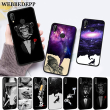 WEBBEDEPP Cigarette Smoking  Protector Silicone Case for Huawei P8 Lite 2015 2017 P9 2016 Mimi P10 P20 Pro P Smart 2019 P30