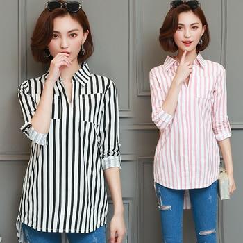 3c0c6d2a1 Nuevas blusas de maternidad OL estilo camisa para mujeres embarazadas ropa  de maternidad embarazo maternidad blusas