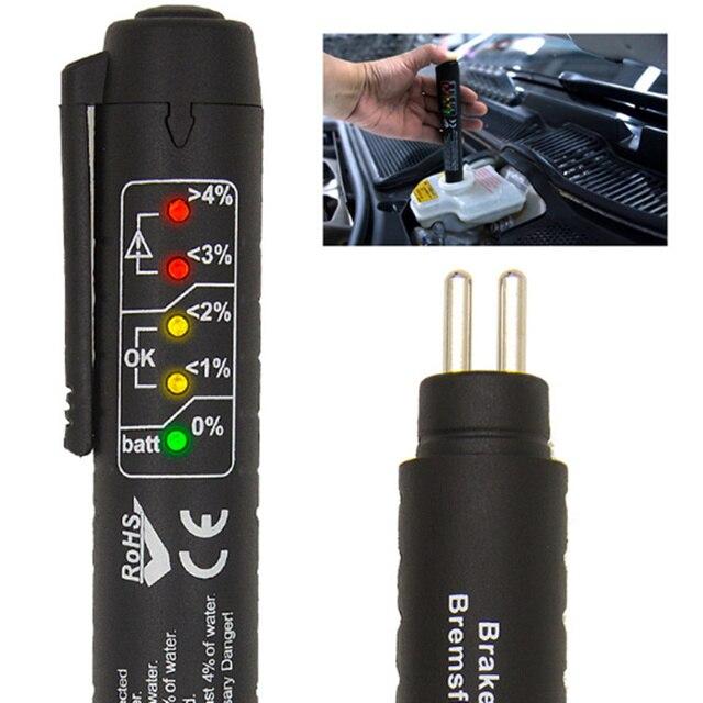 Universal Car Fluid Check Pen Car Brake Liquid Digital Tester for SsangYong Actyon Turismo Rodius Rexton Korando Kyron Musso