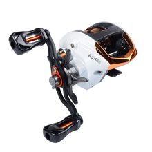 Fishdrops LP200 Fishing Reel GT 6.3:1 Bait Casting Reels Left Right Hand Fishing One Way Clutch Baitcasting Reel