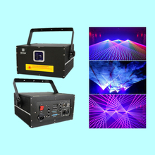 DY-K3 Laser Projector 3W RGB Light  Full Color 25K Galvo Scanner Show System For Laserist Shows