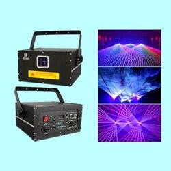 DY-K3 projektor laserowy 3 W RGB światło laserowe W pełnym kolorze 25 K Galvo skaner laserowy pokaz świetlny systemu Laserist pokazy laserowe