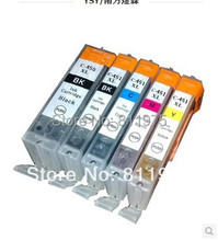 1 PGI 450BK CLI 451 BK C M Y compatible ink cartridge For canon PIXMA MG5440/ Ip7240/MX924 printers