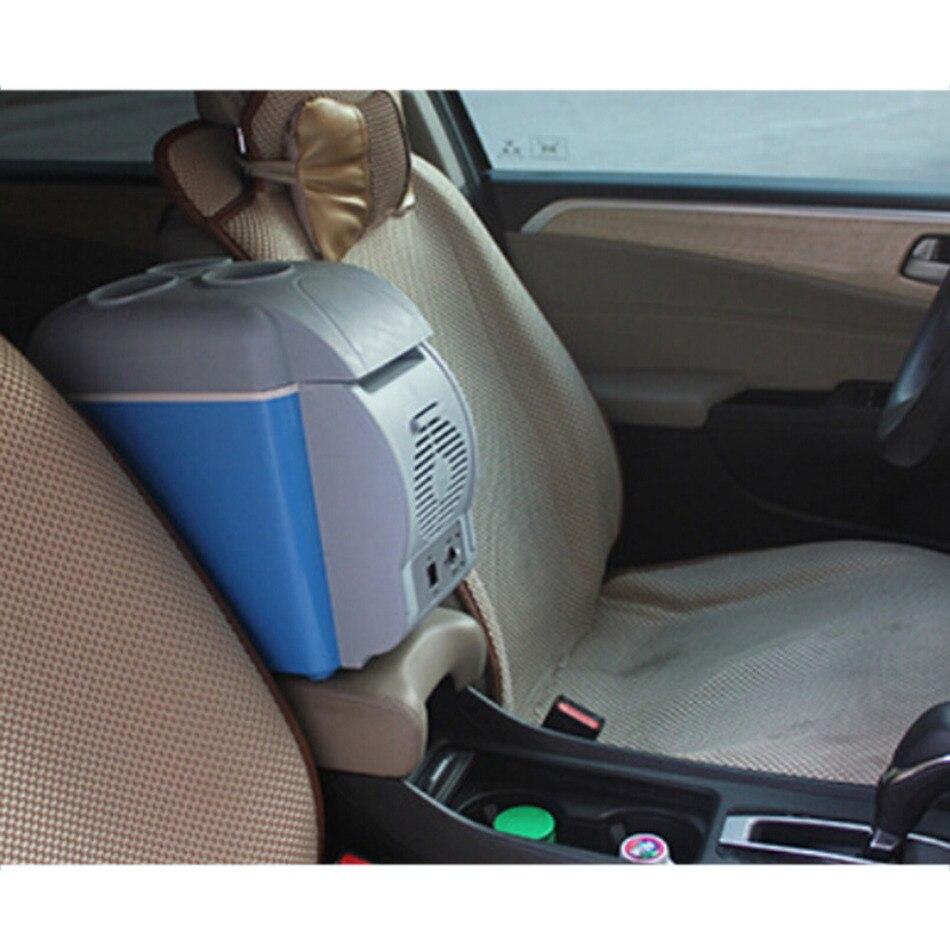 imágenes para Coche 7.5L Mini Calentamiento y Refrigeración Refrigerador de Vehículos 12 V Caliente y Frío de Doble Uso Del Coche Frigorífico Para Coche Y casa