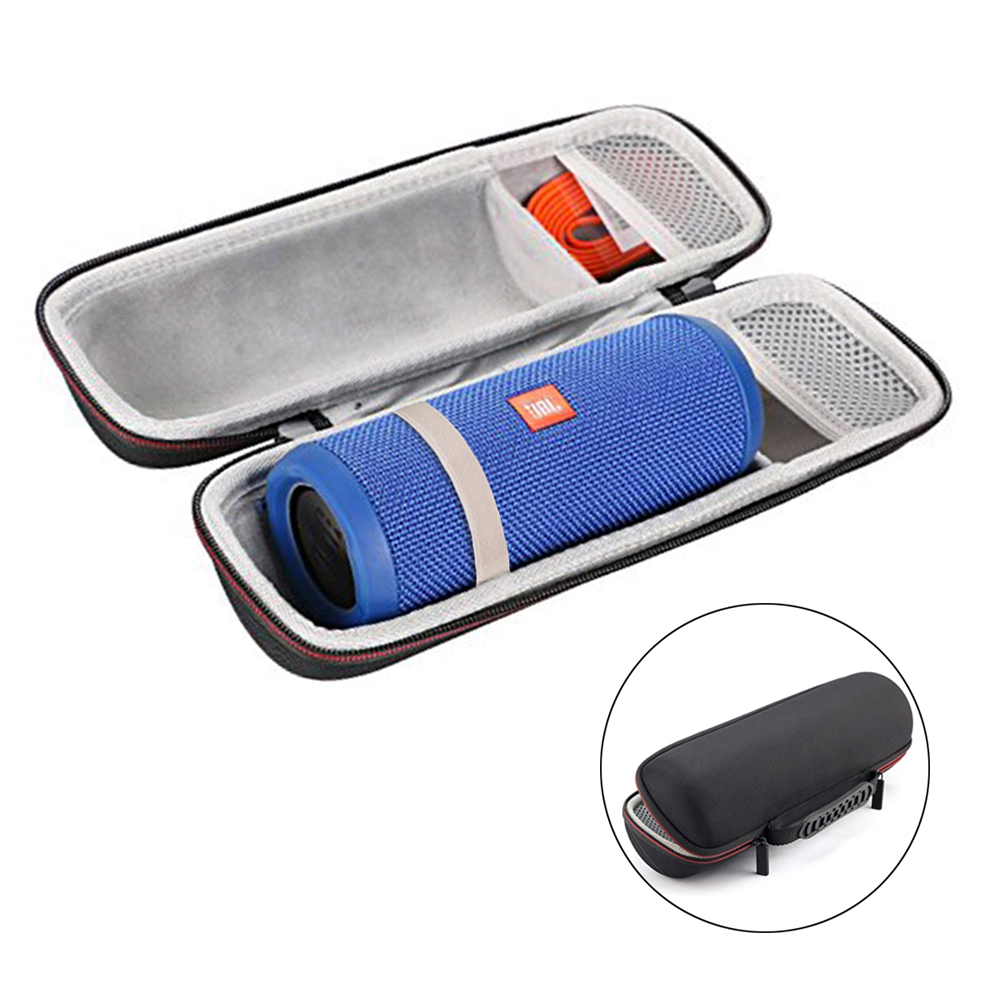 купить 2018 New Travel Carrying Box Case For JBL Flip 3 Flip4 Speaker EVA Hard Storage Bag for jbl flip 3/4 Fits USB Cable & Chargers онлайн