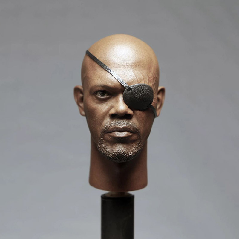 1/6 Scale Captain Aegis Nick Fry 2.0 Man Head Sculpt Version Soldier Head Carving Headplay for 12 Action Figure Body1/6 Scale Captain Aegis Nick Fry 2.0 Man Head Sculpt Version Soldier Head Carving Headplay for 12 Action Figure Body