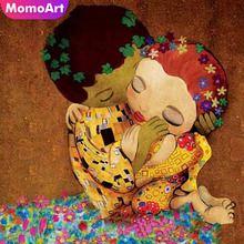MomoArt Diamond Embroidery Cartoon Full Drill Painting Square Rhinestone Mosaic Home Decoration