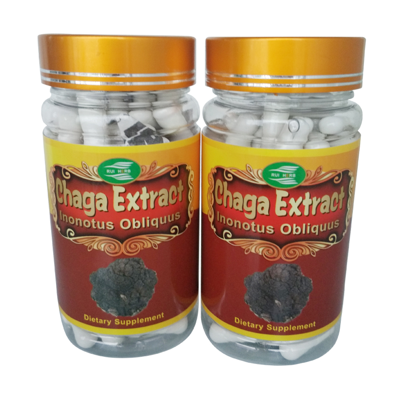 3Bottle Chaga Extract 30% Polysaccharide Caps 500mg x 270pcs free shipping coconut cowboy