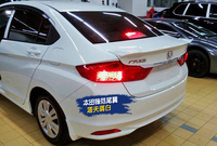Fit for Honda city 15 17 rear ABS spoiler rear wing