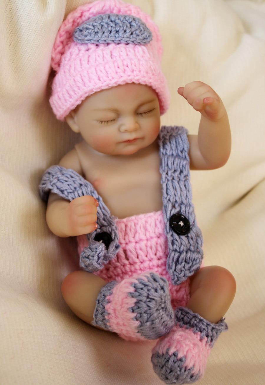 OtandDolls mini 10inch silicone Reborn baby doll boneca ...