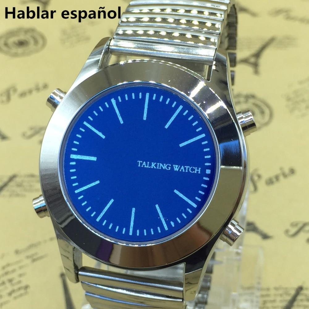 Spanish Talking Watch With Alarm Hablar Espanol