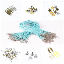 1 Pcs Metal DIY New Fashion Wing Metal Moon Chains Necklaces Crystal Necklace Women Holiday Beach Statement Jewelry Wholesale(China)