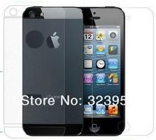 Free Shipping 50pcs lot Front Back FULL BODY clear Screen Protector For Apple iPhone 5 5th
