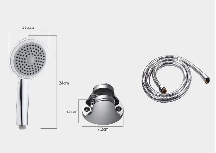 bathroom water heater shower heads universal bath showerhead-in ...