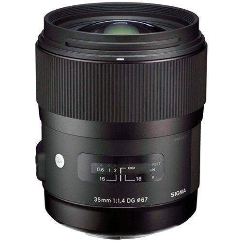 Sigma 35/1. 4 Kunst objektiv für Canon 35mm f/1,4 DG HSM KUNST Objektiv für Canon 700D 750D 760D 800D 60D 70D 80D 7D 6D 5DII 5 DIII 5Ds 1Dx-in Kamera-Objektiv aus Verbraucherelektronik bei  Gruppe 1