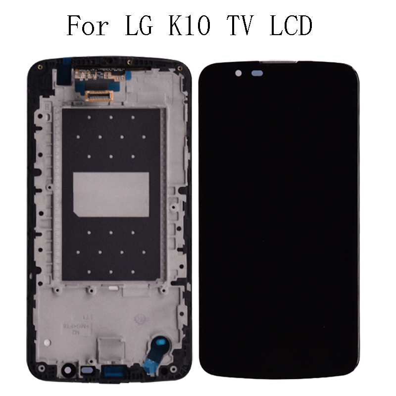 "5.3"" Original LCD For LG K10 TV K10TV K430TV K410TV LCD Display Touch Screen with Frame Repair Kit Replacement+Free Shipping-in Mobile Phone LCD Screens from Cellphones & Telecommunications"