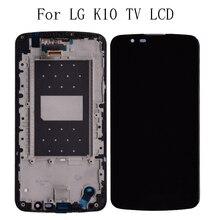 """5.3 """"TV LCD Original Para LG K10 K10TV K430TV K410TV Display LCD Kit de Reparação de Substituição da Tela de Toque com Quadro + frete Grátis"""