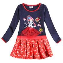 2-8y Девушки бальные платья nova малыши носят дети горячие продажи детская одежда с длинным рукавом мода свадебные девушки платья детские платья