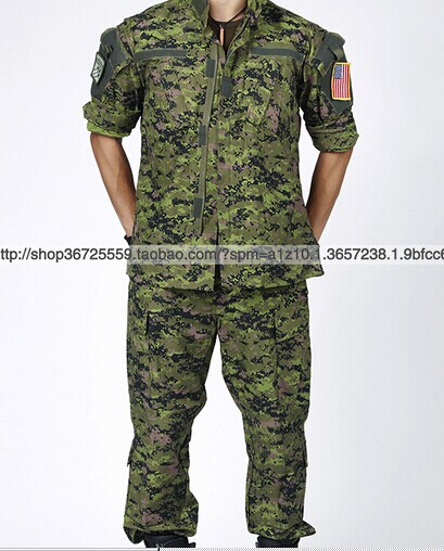 us army military uniform for men overalls Canadian digital camouflage army  uniform jacket and pants XS-XXL e95de2cd8eb