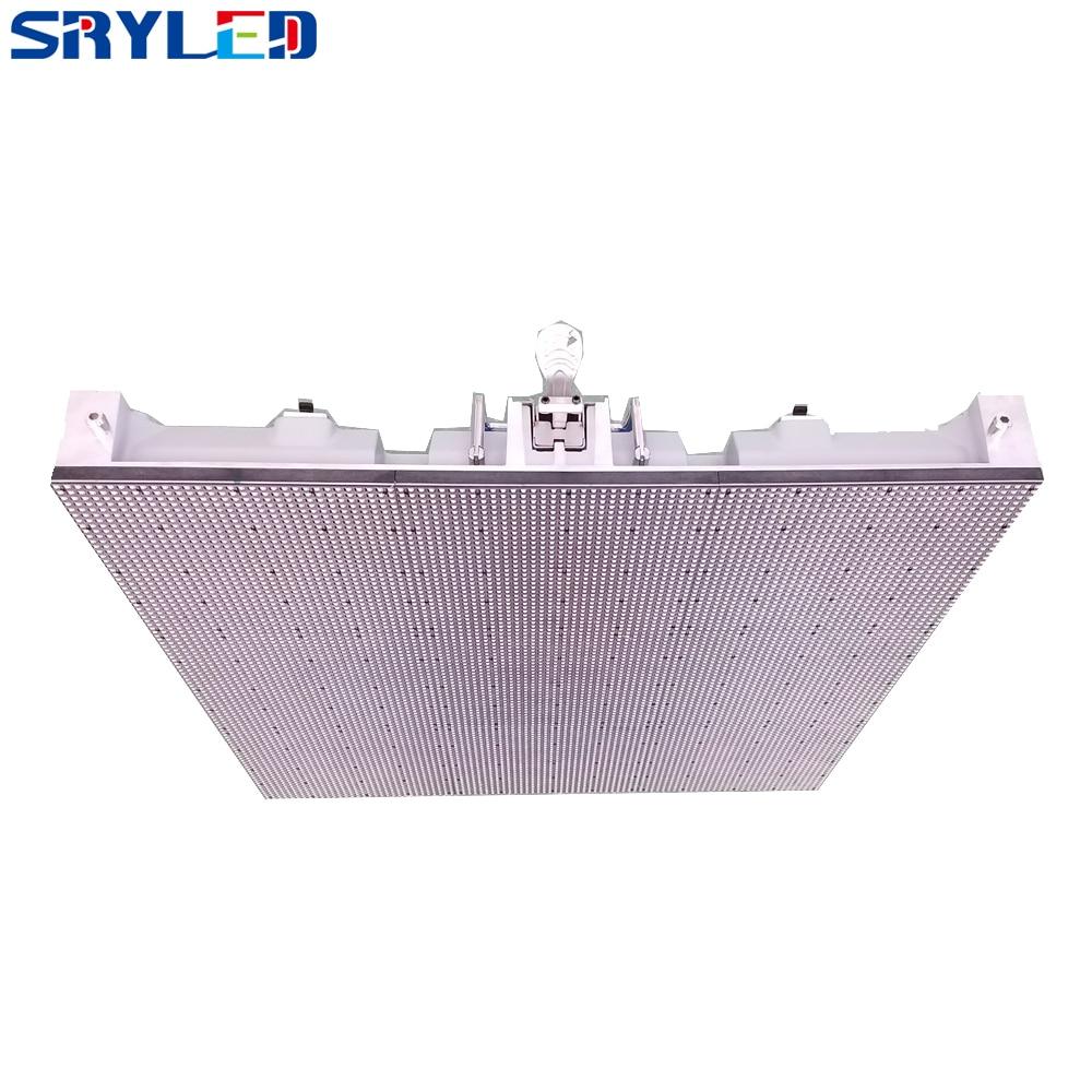 Fast Installation Design Indoor Pixel Pitch 6mm Full Color Die-casting Aluminum LED Display Cabinet 10.5kg/pcs