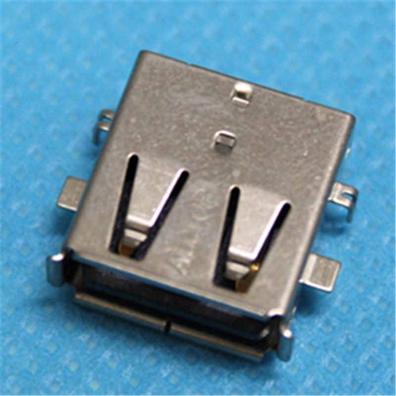 все цены на 1pcs/lot USB Jack Connector For Asus N53 N53JN Series usb port female socket 2.0 jack онлайн