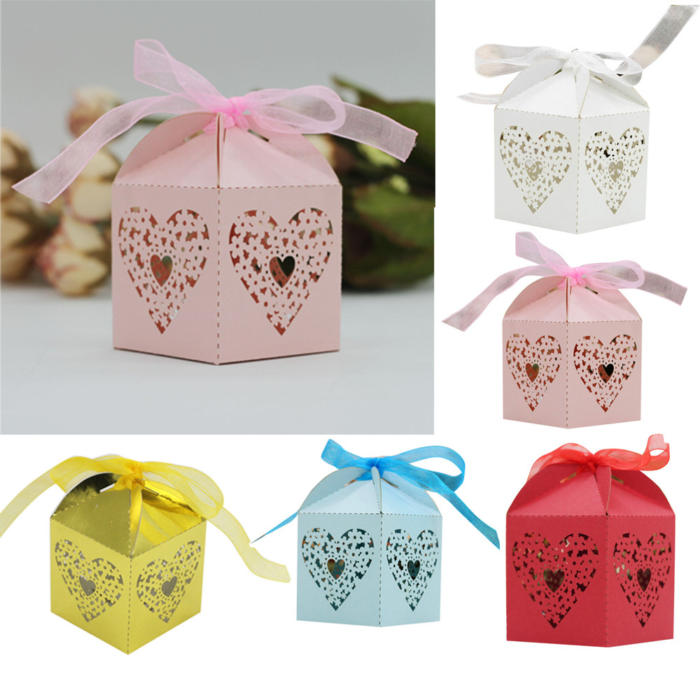 New Qualified Dropship 50Pcs Sweet Married Wedding Favor Box Gift ...