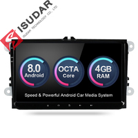 Android 8 0 9 Inch Car DVD Player Stereo System For VW Volkswagen POLO PASSAT Golf