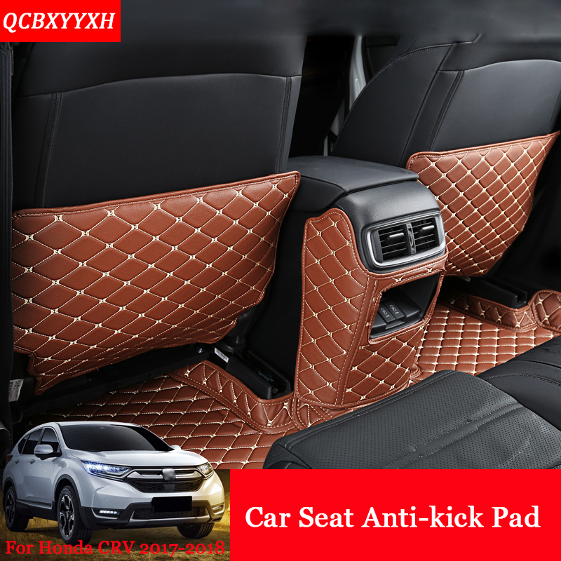 car styling pu 3pcs car interior seat protector side edge protection pad car stickers anti kick. Black Bedroom Furniture Sets. Home Design Ideas