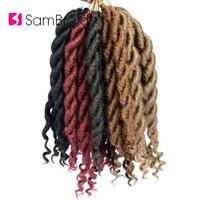 Sambraid Goddess Faux Locs Crochet Hair Synthetic Hair Crochet Braiding Hair Extensions 12 Inch For Black Women
