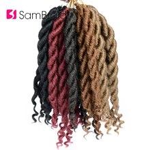 дешево✲  SAMBRAID Богиня Faux Locs Вязание Крючком Синтетические Волосы Плетение Крючком Наращивание Волос  Лучший!