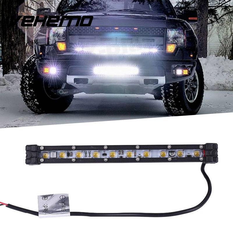 Vehemo ETI LED Single Row Strip Bulb Car Auto Vehicle Roof Light Super Bright видеоигра бука saints row iv re elected